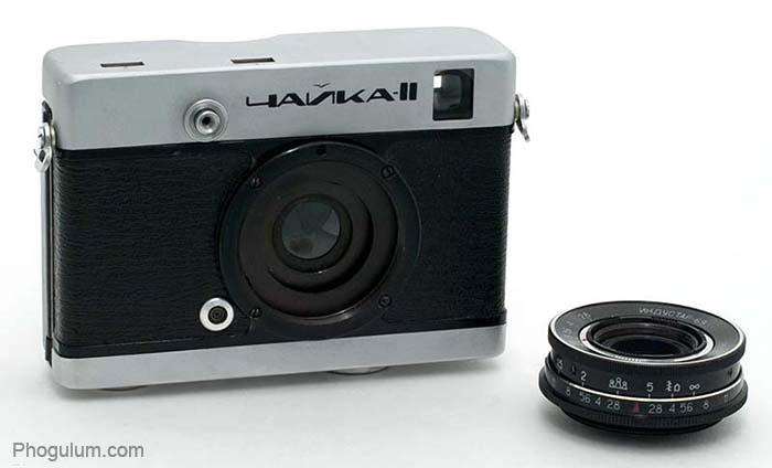 Chaika II lens removed