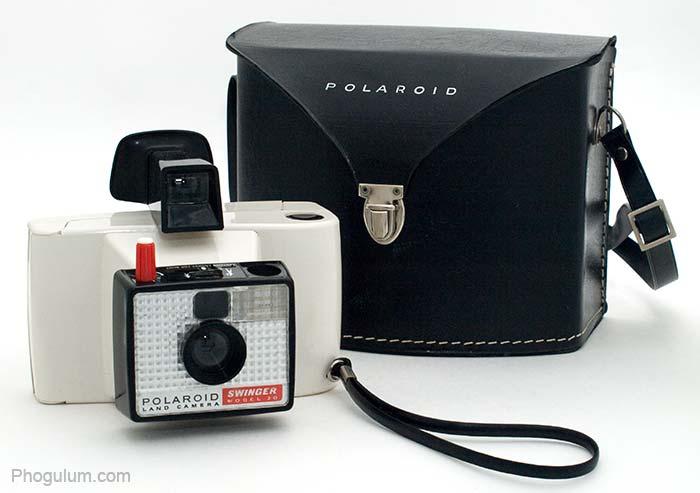 Polaroid Land Camera Swinger Model 20