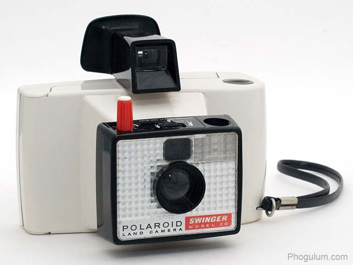 Polaroid Land Camera Swinger model 20